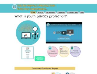 youthprivacyprotection.org screenshot