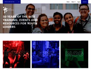 youthspecialties.com screenshot