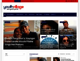 youthvillage.co.za screenshot