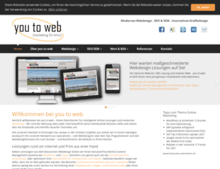 youtoweb.de screenshot