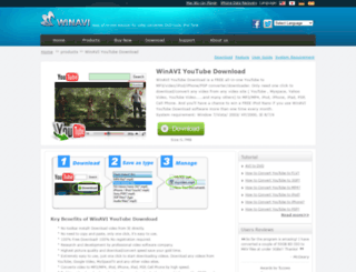 youtube-download.winavi.com screenshot