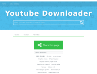 youtubedownloaders.xyz screenshot