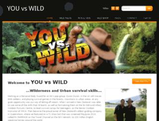 youvswild.co.nz screenshot