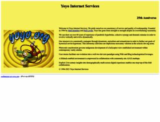yoyo.org screenshot