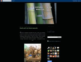 yoyobonsai.blogspot.com screenshot