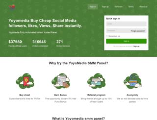 yoyomedia.co screenshot