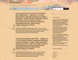 yoyoobox.wordpress.com screenshot