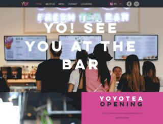 yoyotea.nl screenshot