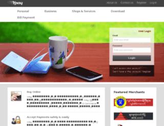 ypay.com.mm screenshot