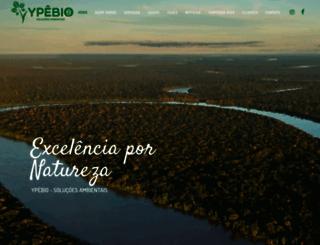 ypebio.com.br screenshot