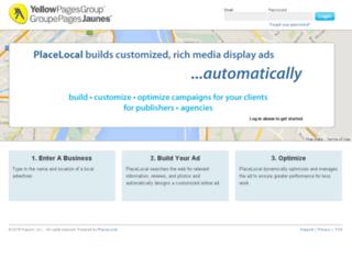 ypgcentral.placelocal.com screenshot
