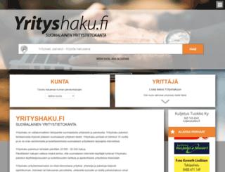 yrityshaku.fi screenshot