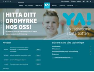 yrkesakademin.fi screenshot