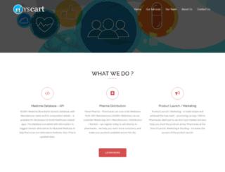 yscart.com screenshot