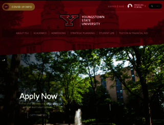 ysu.edu screenshot