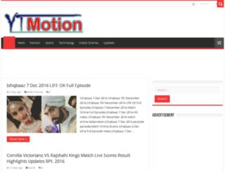 yt-motion.com screenshot
