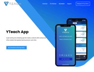 yteach.com screenshot