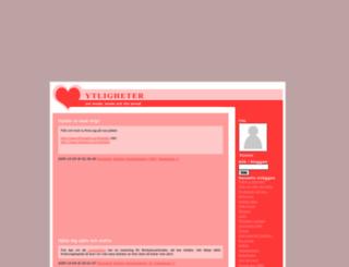 ytligheter.webblogg.se screenshot