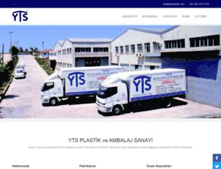 ytsplastik.com screenshot