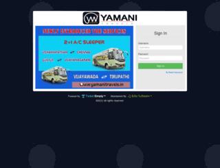 ytt.yamanitravels.in screenshot