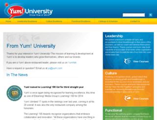 yu.yum.com screenshot