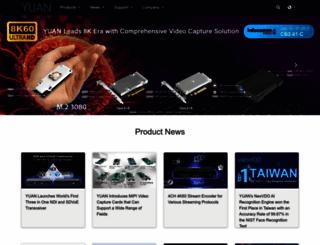 yuan.com.tw screenshot
