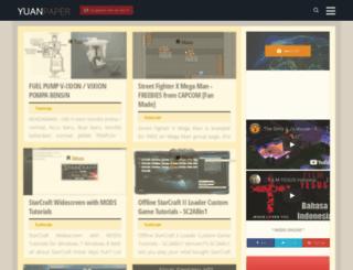 yuanpaper.blogspot.com screenshot