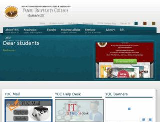 yuc.edu.sa screenshot