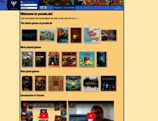 yucata.de screenshot