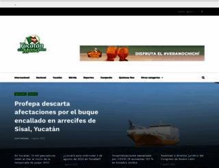 yucatanalamano.com screenshot