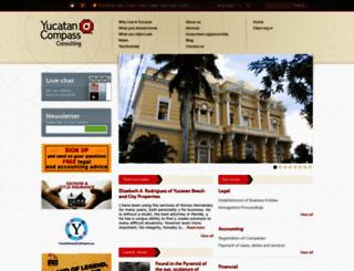 yucatancompass.com screenshot