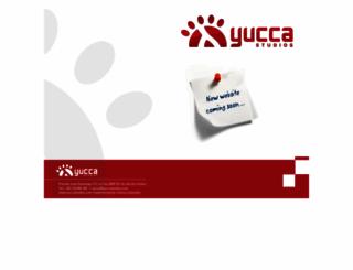 yuccastudios.com screenshot