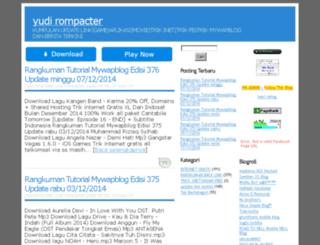 yudi-rompacter.mywapblog.com screenshot