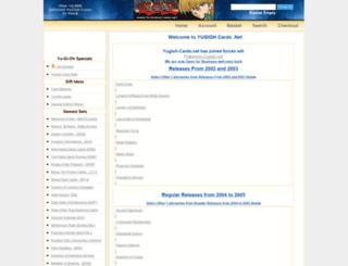 yugioh-cards.net screenshot