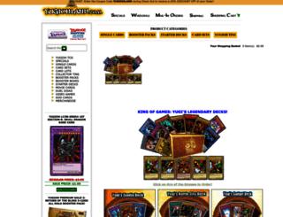 yugioh-land.com screenshot
