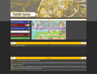 yugioh-online.forumfree.net screenshot