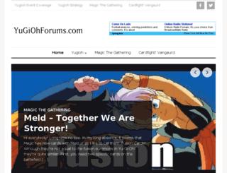 yugiohforums.com screenshot