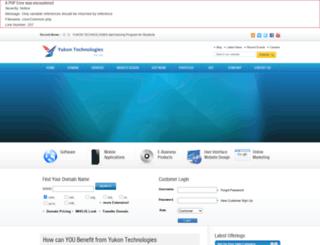 yukontechnologies.com screenshot