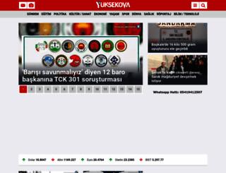 yuksekovahaber.com screenshot