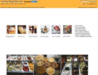 yummybaguette.com screenshot