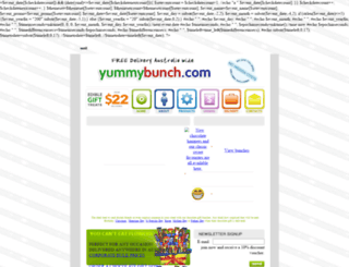 yummybunch.com.au screenshot