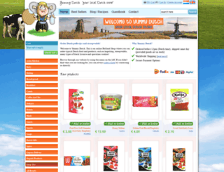 yummydutch.com screenshot