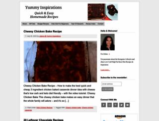 yummyinspirations.net screenshot