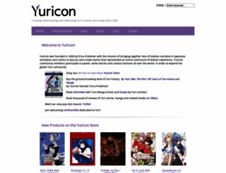 yuricon.com screenshot