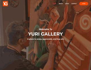yurigallery.com screenshot