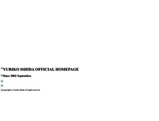 yuriko-ishida.com screenshot