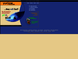 yurope.com screenshot