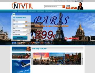 yurtdisi.ntatil.com screenshot