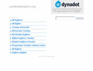 yurtdisidilegitimi.org screenshot
