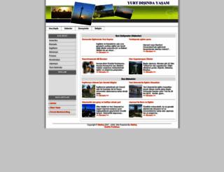 yurtdisindayasam.com screenshot